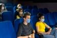 des collégiens au cinéma